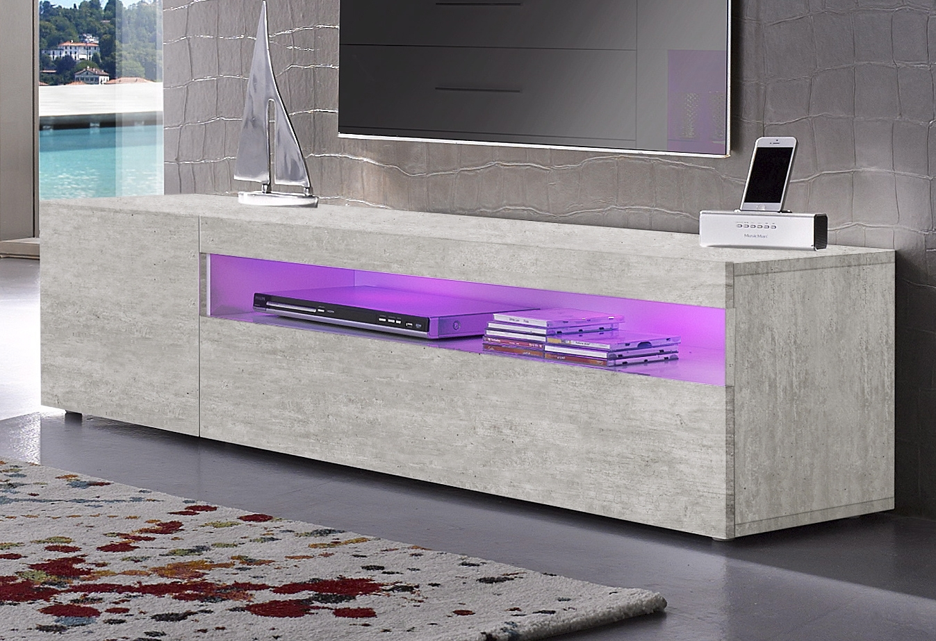 Tecnos Lowboard DAIQUIRI van 150 cm breed goedkoop op otto.nl kopen