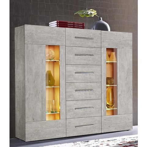 Dressoirs Highboard Daiquiri van 120 cm breed 581608