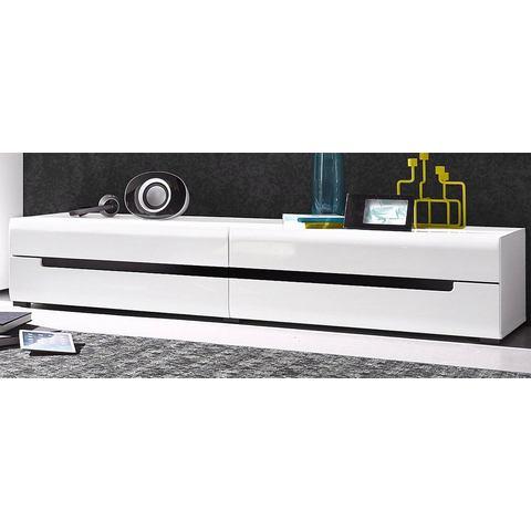 Lowboard breedte 180 cm wit TV-kast 415