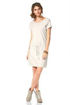 Sweat-jurk van puur katoen