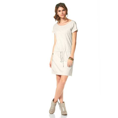 ANISTON Sweat-jurk van puur katoen
