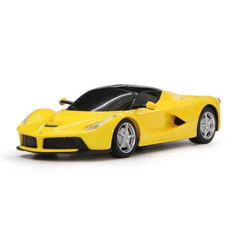 Jamara Ferrari LaFerrari 1:24 geel 27Mhz