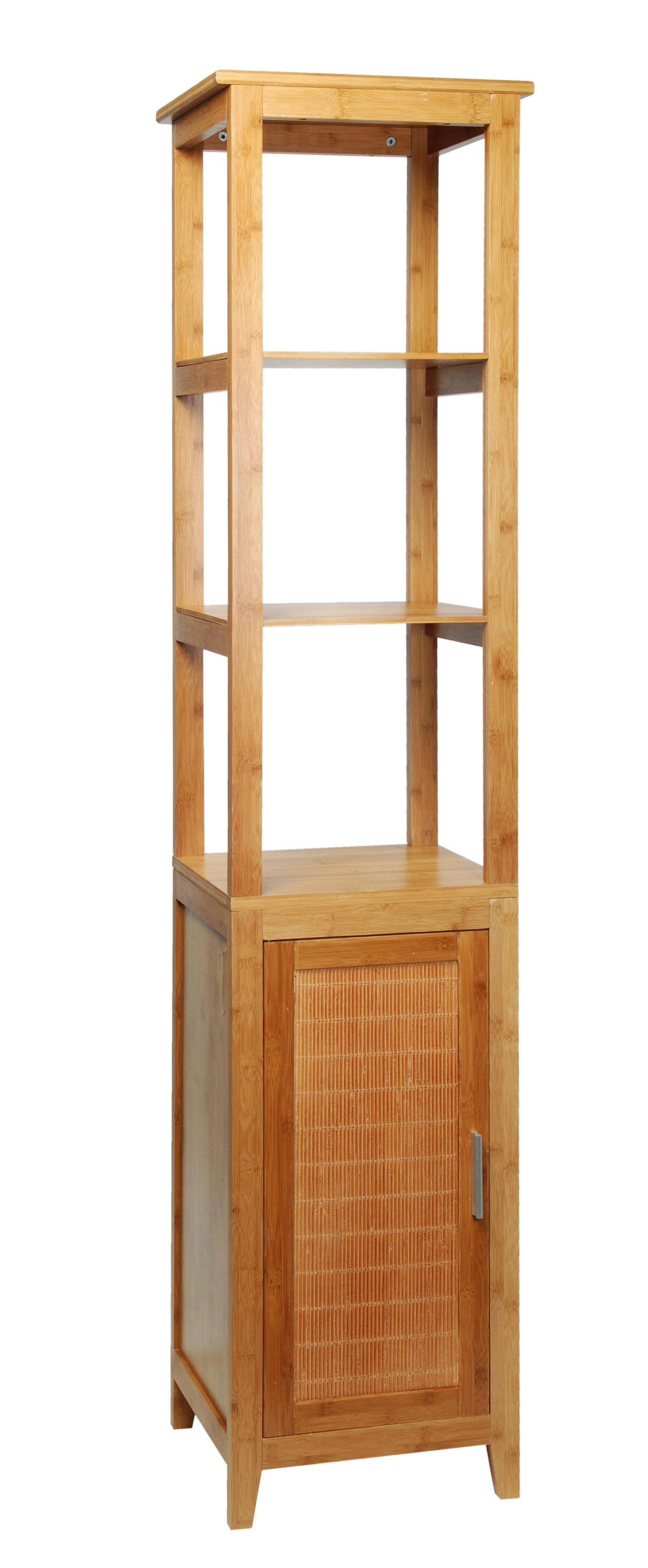 Hoge kast »bamboe«, Breedte 42 cm online bij | OTTO