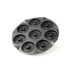 zenker bakplaat voor appelbeignets zwart