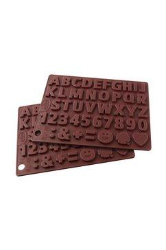 Chocoladevorm Letters & Getallen