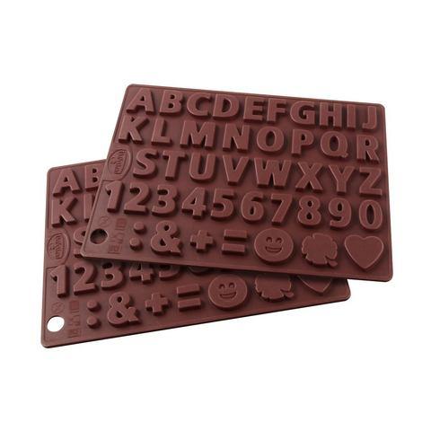 DR. OETKER Chocoladevorm Letters & Getallen
