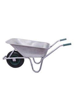 sz metall kruiwagen »100 liter«, 100 liter, 150 kg zilver