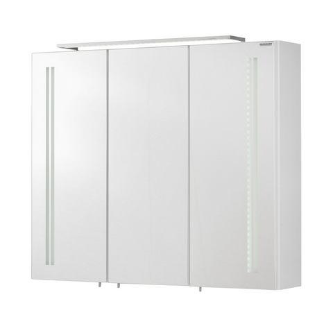 kast Lugano witte badkamer spiegelkast 58