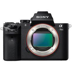 sony systeemcamera ilce-7m2b - alpha 7 ii e-mount exmor cmos full-frame-sensor, 7,5 cm (3 inch) lcd-display, full hd-video, nfc, wifi (wifi), enkel behuizing zwart