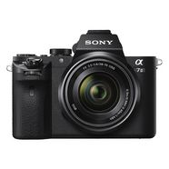 sony systeemcamera alpha ilce-7m2k gezichtsherkenning, hdr-opname, macro-opname zwart