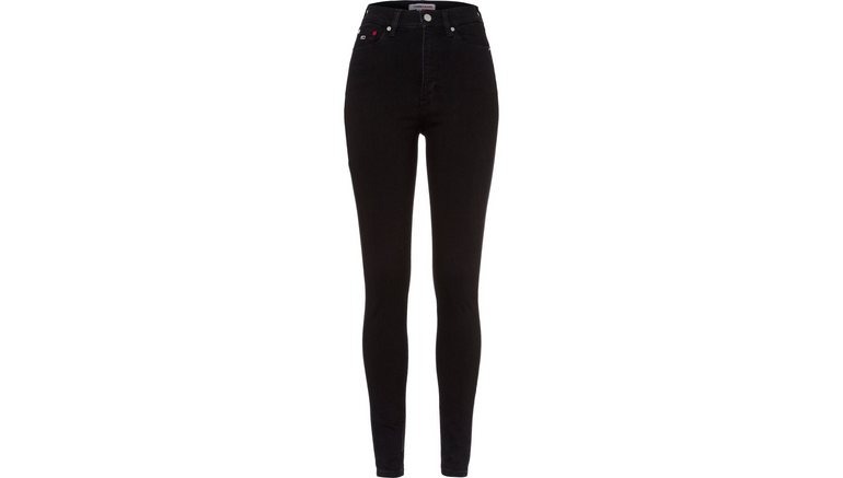 TOMMY JEANS skinny fit jeans met tommy jeans-logobadge