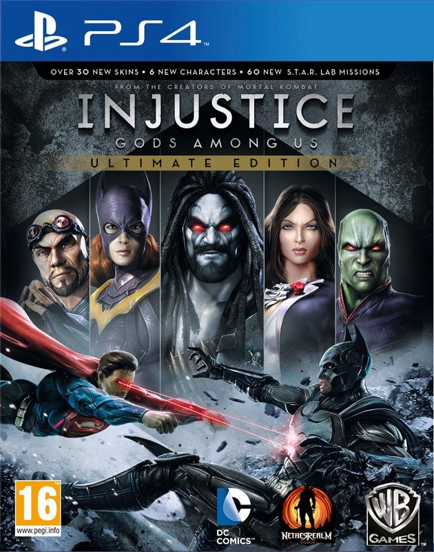 PlayStation PS4 Game Injustice Gods Amond Us (GOTY Edition) online kopen op otto.nl