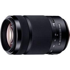 sony dt 55-300 mm f4,5–5,6 sam sal55300 telezoom objectief zwart