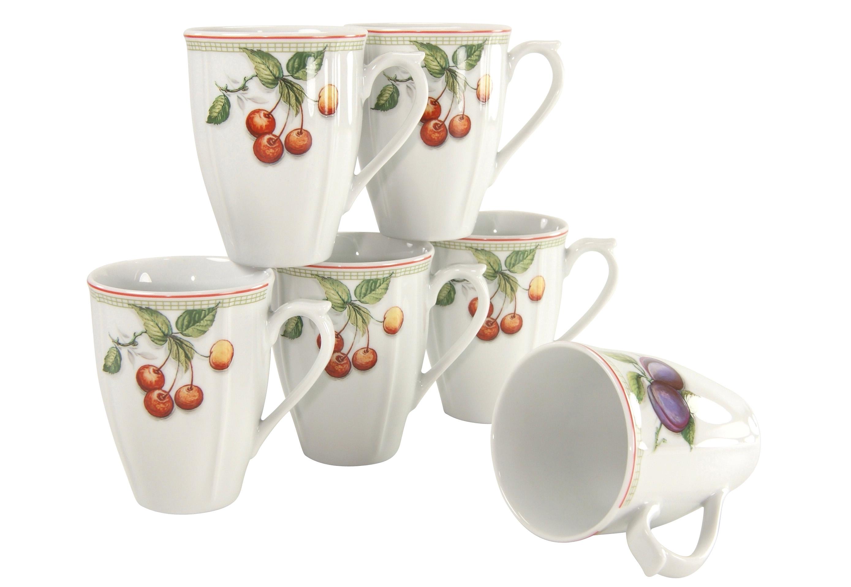 Creatable beker 'Flora Orchard' (set van 6) goedkoop op otto.nl kopen