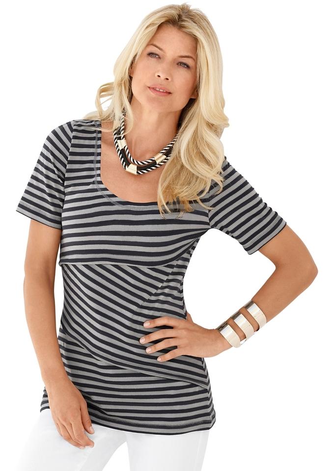 Ambria Lang shirt in streepdessin nu online kopen bij OTTO