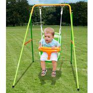 yardmaster enkele schommel »baby swing fu100« groen