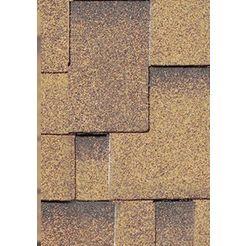 karibu asymmetrische dakspanen bruin
