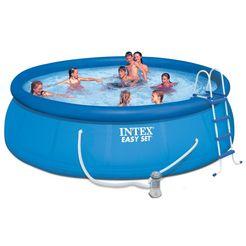 intex complete zwembad-set easy blauw