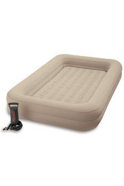 intex luchtbed kidz travel bed set beige