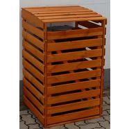 promadino kliko-ombouw voor 1x120 l van hout, bxdxh: 68x63x111 cm bruin