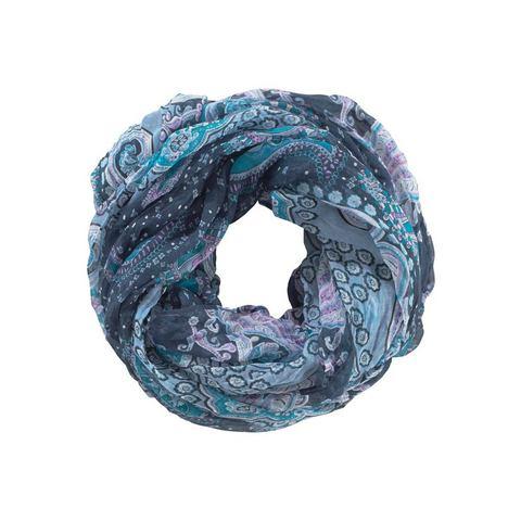 Ronde sjaal van polyester