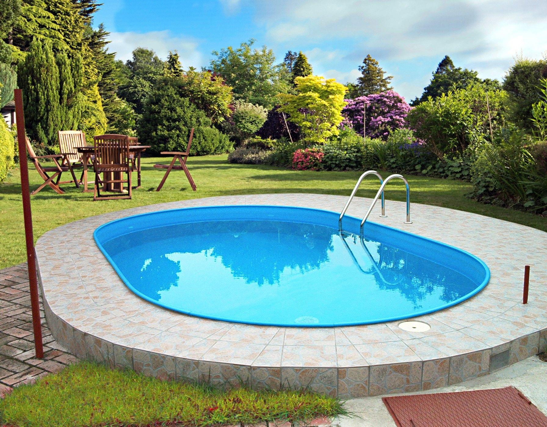 Clear pool ovaal zwembad online verkrijgbaar otto for Zwembad afmetingen