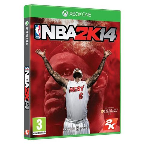 XBOX ONE Game NBA Basketball 2K14