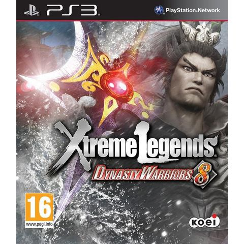PS3 Game Dynasty Warriors 8, Xtreme Legends