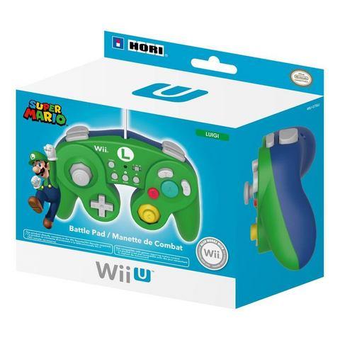 Hori Hori, Super Smash Bros Controller (Luigi) Wii U (WIU-076U)