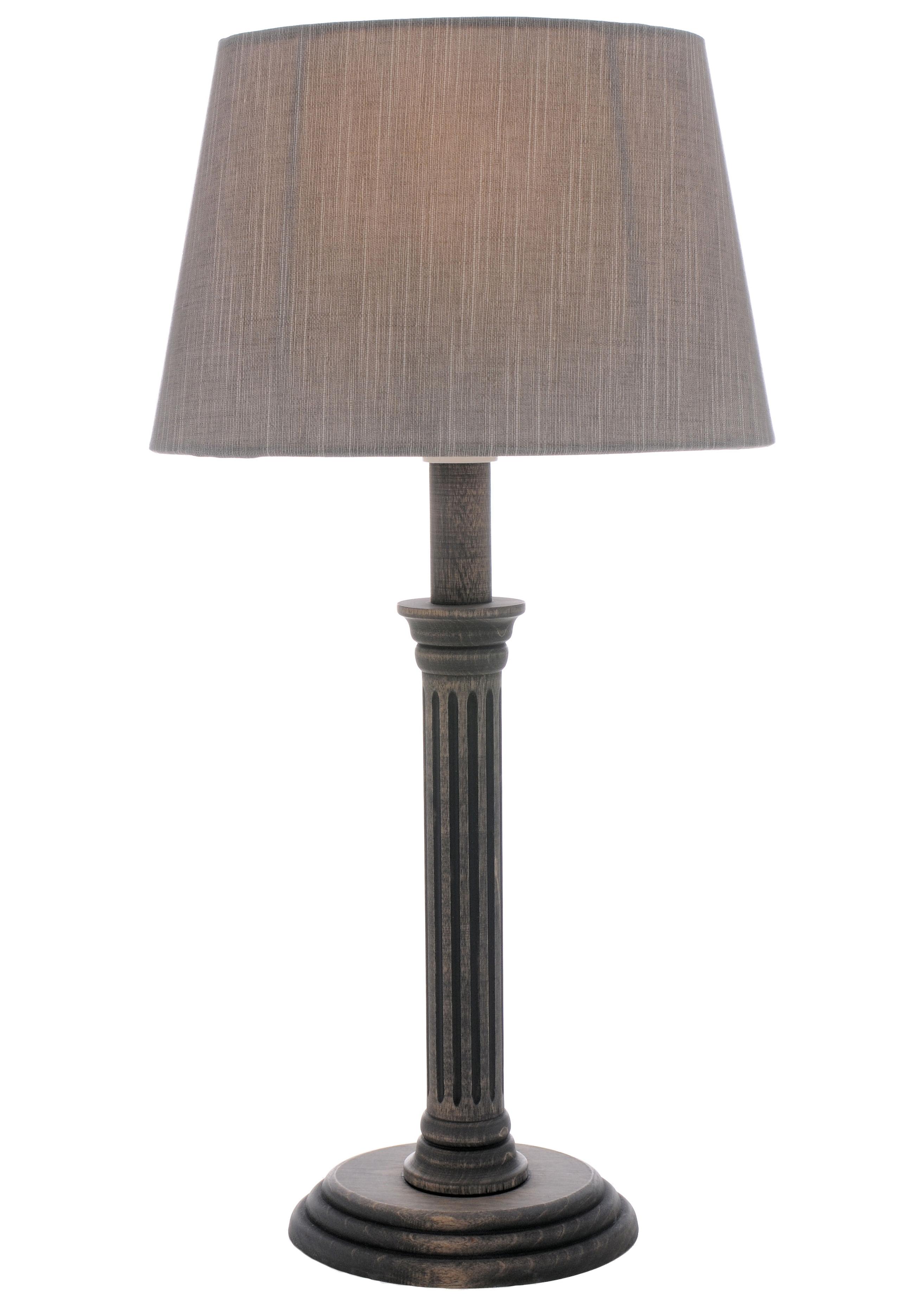 Populair Tafellamp met zilverkleurige stoffen kap bestellen bij | OTTO BI27