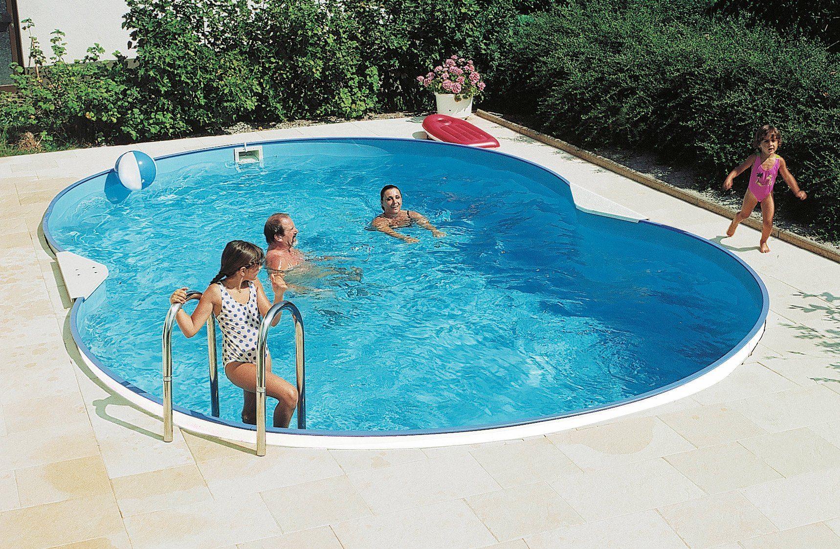 Clear pool set achtvormig zwembad vormig zwembad« dlg