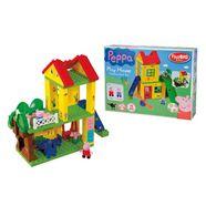 big constructie-speelset big-bloxx peppa wutz play house (75 stuks) multicolor