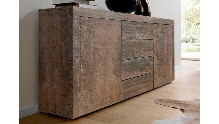 sideboard breedte 139 cm online kopen otto. Black Bedroom Furniture Sets. Home Design Ideas