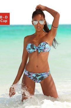 Balconnete-bikinitop met sierstrikje