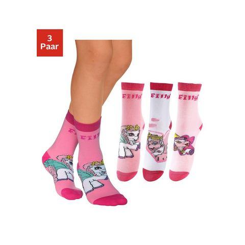 FILLY Sokken in set van 3 paar of set van 6 paar