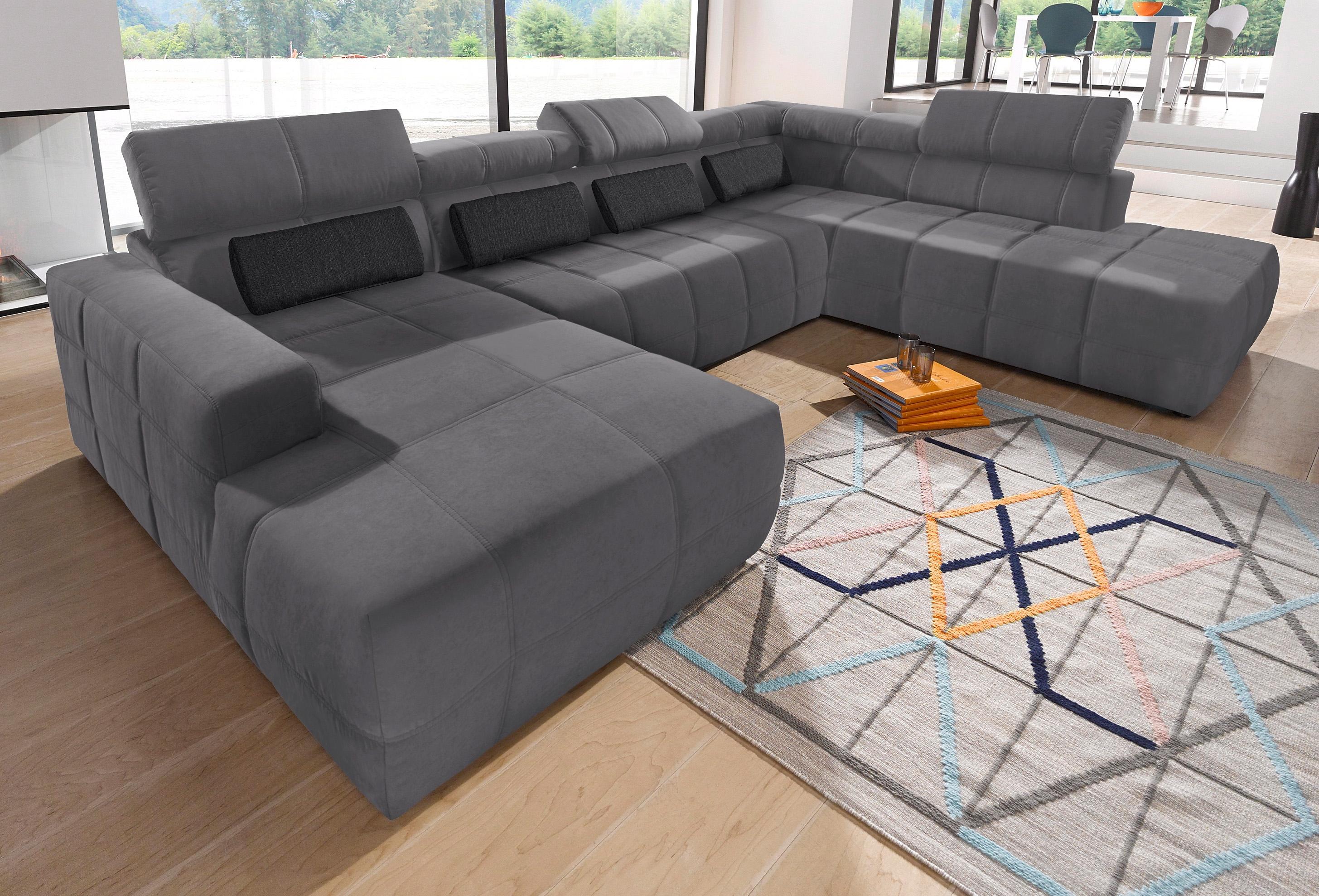 hoekbank naar keuze met verstelbare zitdiepte online. Black Bedroom Furniture Sets. Home Design Ideas