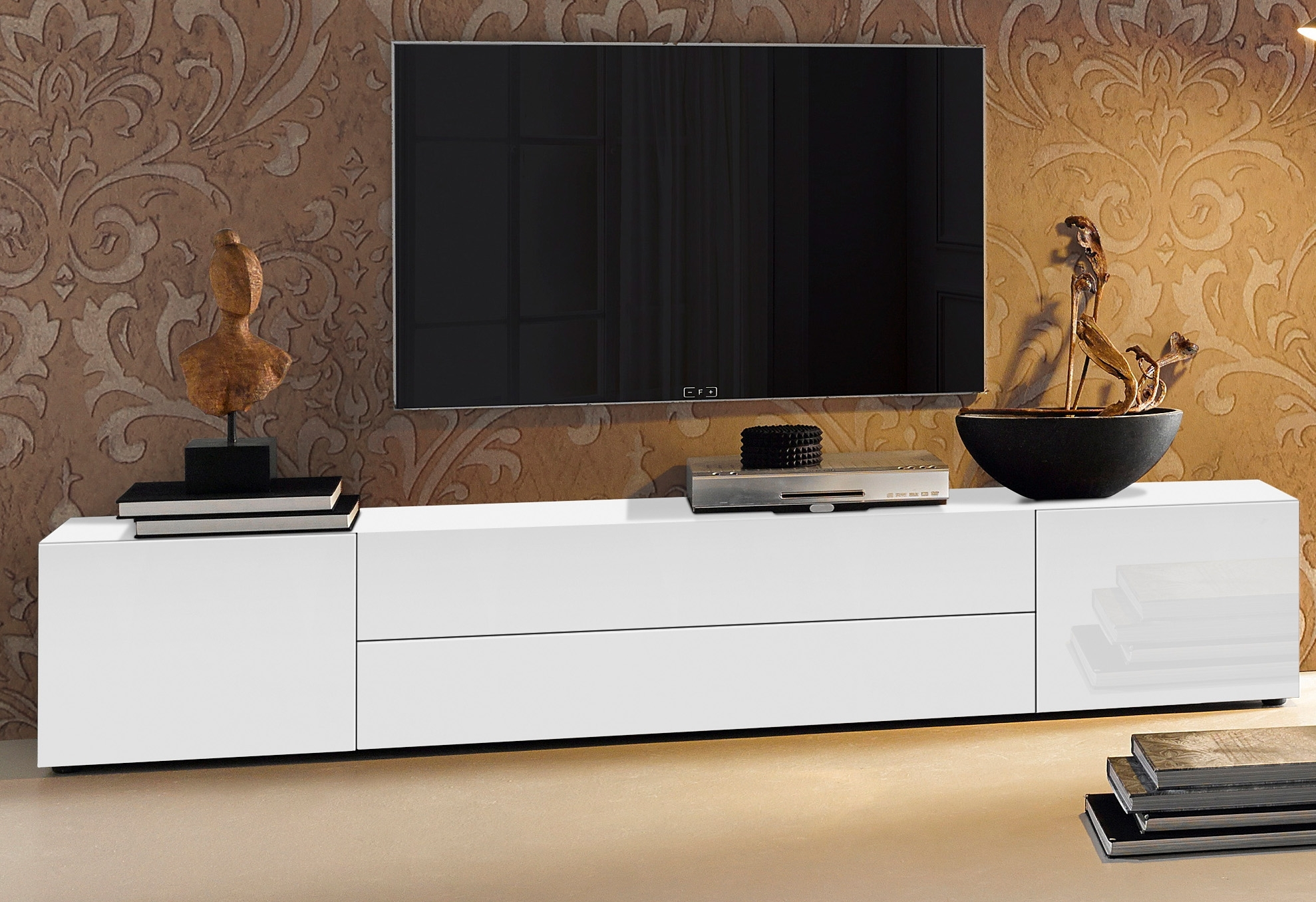 tv meubel 250 cm free populair with tv meubel 250 cm best cm breed joy meubel in mat zwart met. Black Bedroom Furniture Sets. Home Design Ideas