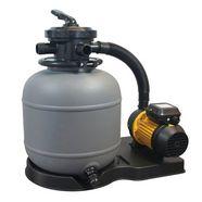 summer fun zandfilterinstallatie »sf 122 set 4-dlg.«, pompvermogen 3 m³ grijs