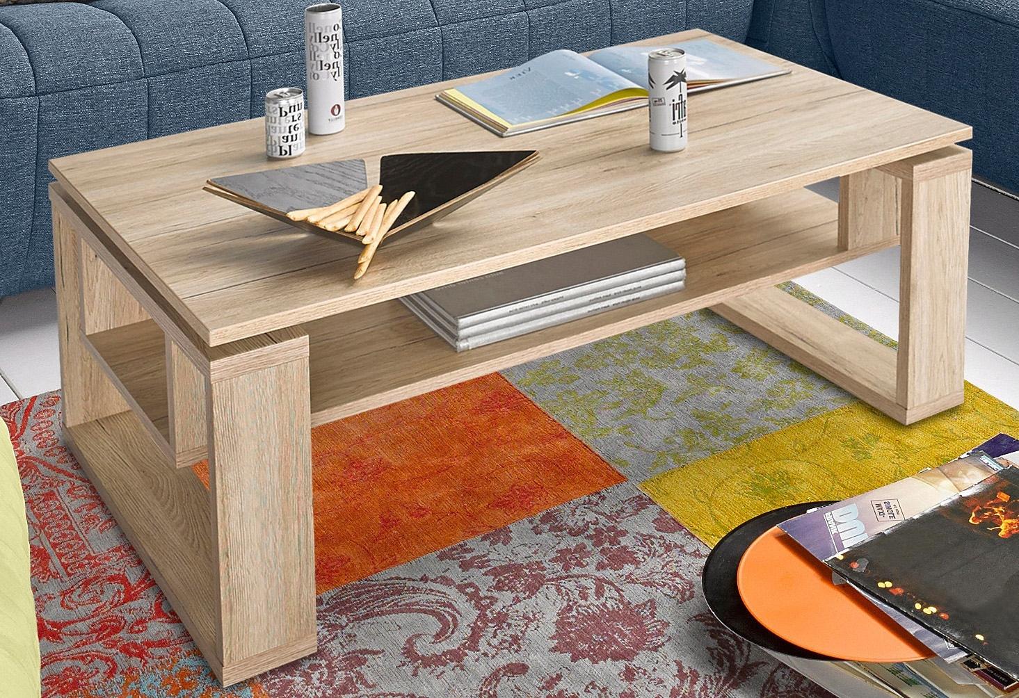 HELA salontafel met plank online kopen op otto.nl