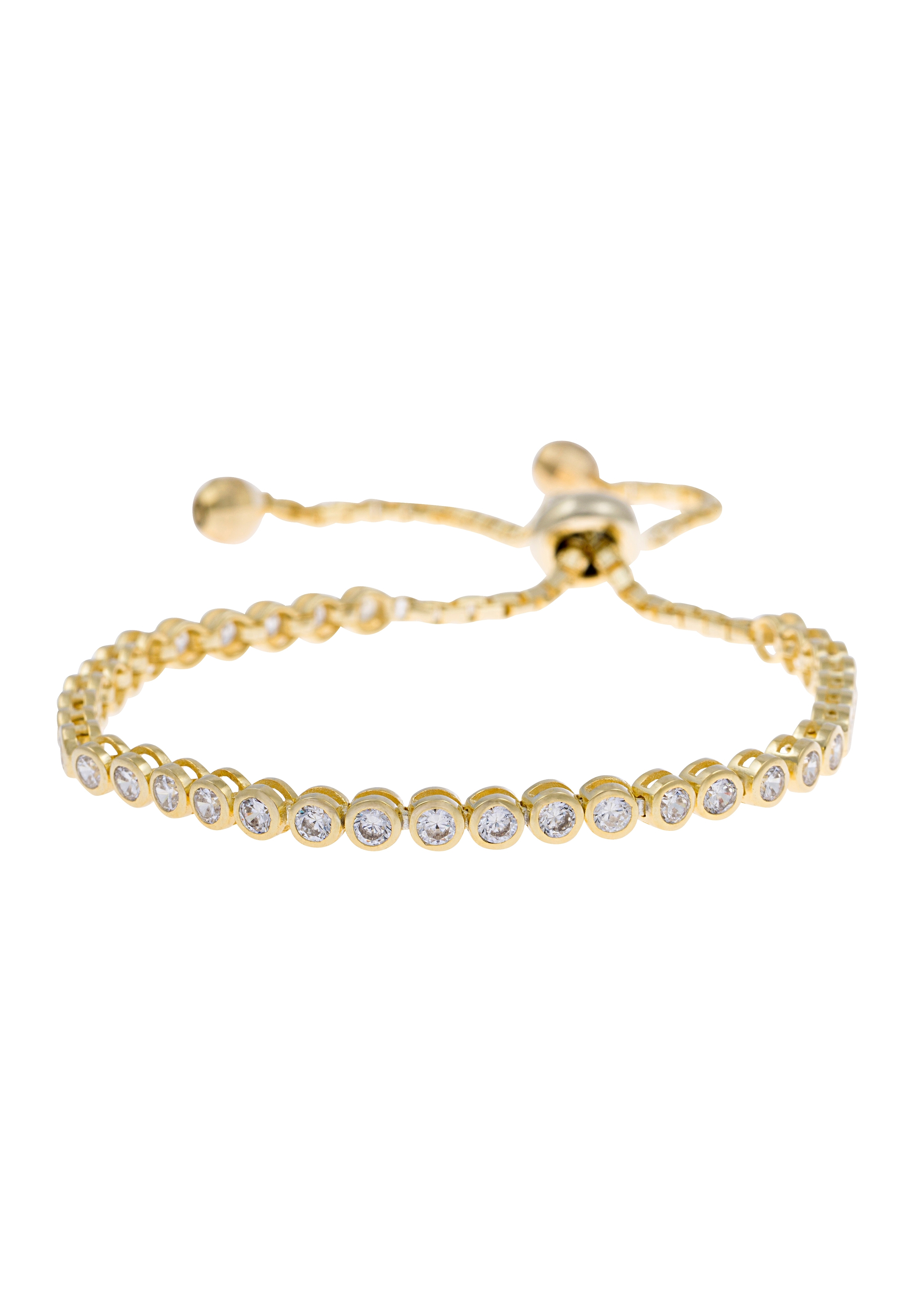 Firetti Armsieraad: armband met zirkoontjes, in grootte verstelbaar grendelslot bij OTTO online kopen