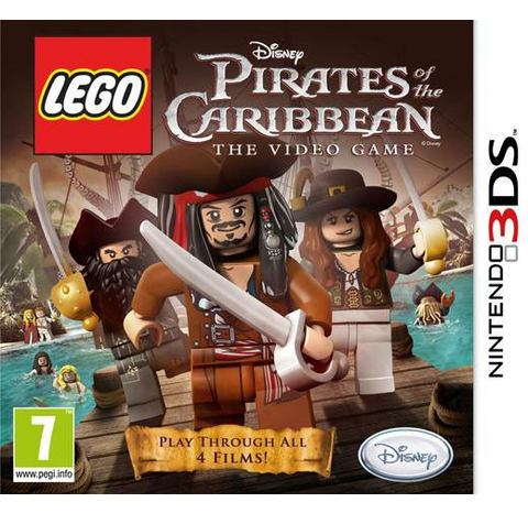 LEGO, Pirates of the Caribbean  3DS