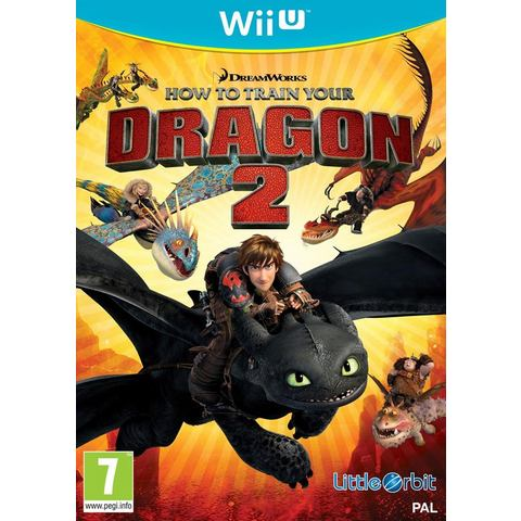 Wii U How To Train Your Dragon 2