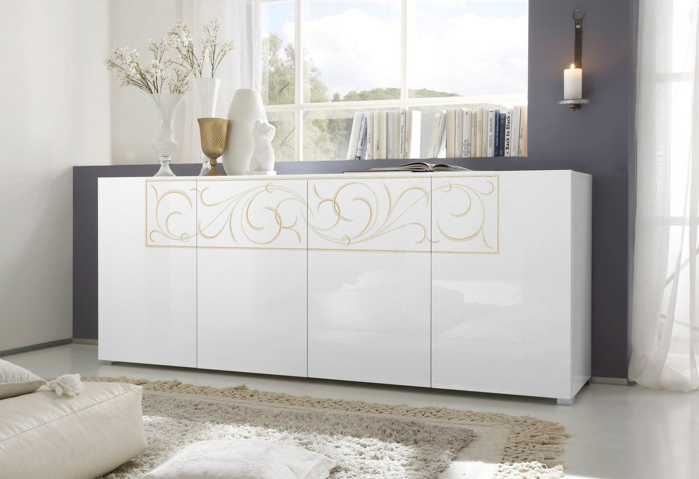 LC Sideboard breedte 210 cm