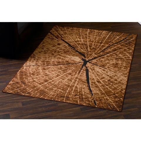 HANSE HOME Karpet in boomstam-look