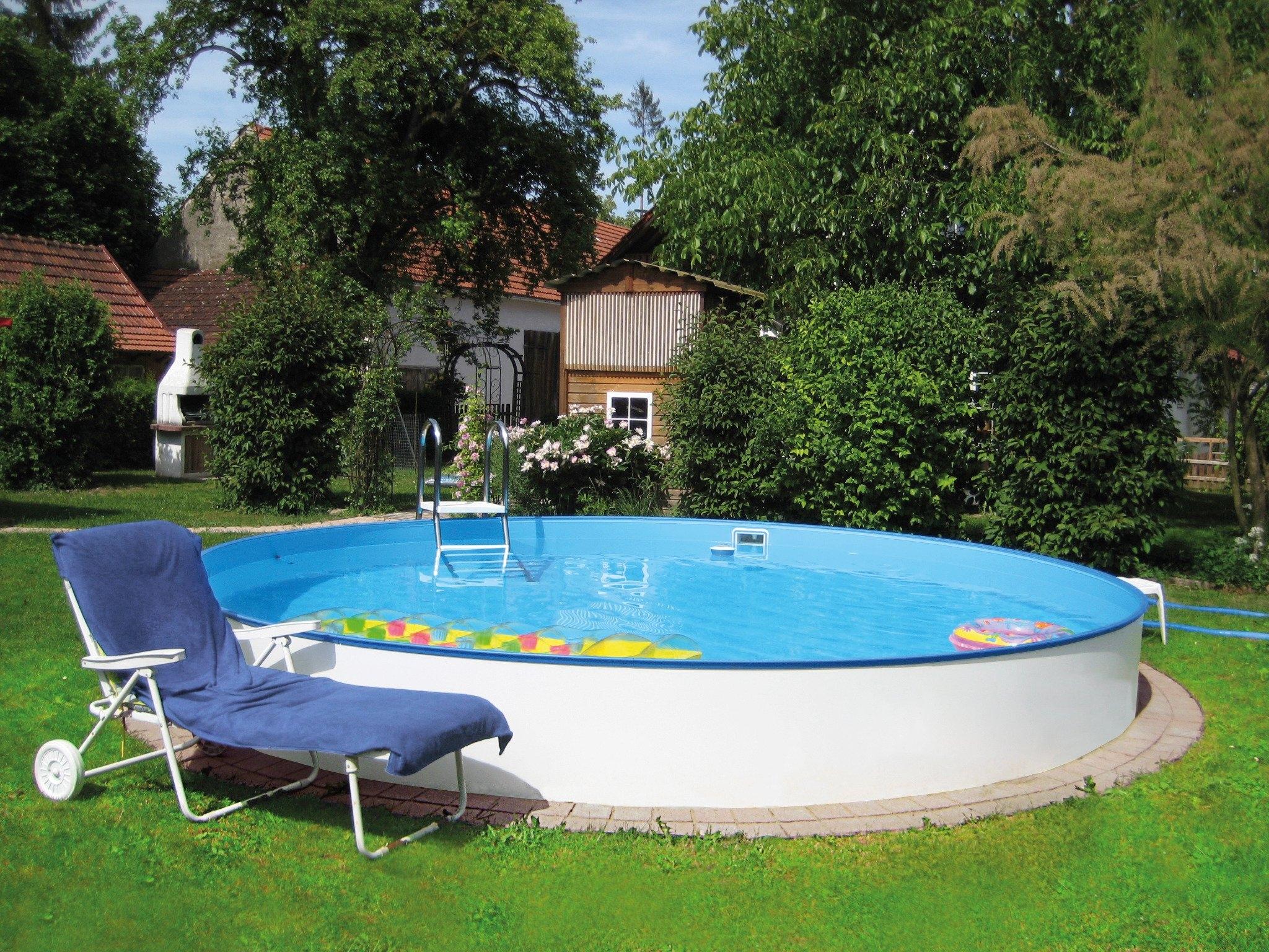 Summer fun rond zwembad complete set 5 dlg snel for Zwembad afmetingen