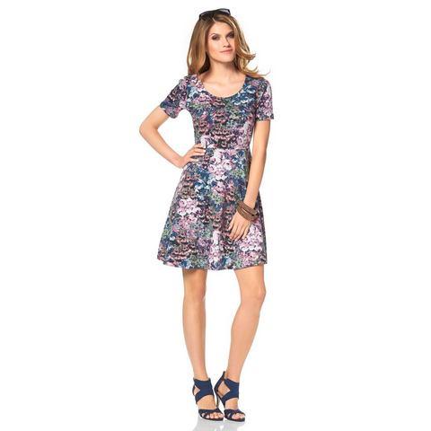 ANISTON Shirt-jurk met flower-print