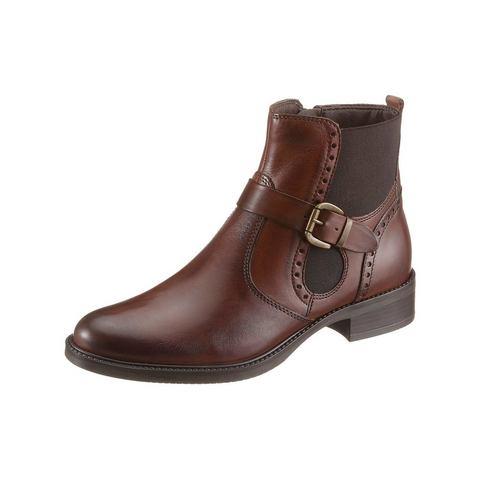 Dames schoen: TAMARIS Chelsea-laarsjes met ritssluiting