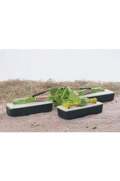 bruder aanhanger voor speelgoedauto driedelige maaier, claas disco 8550 c plus made in germany groen
