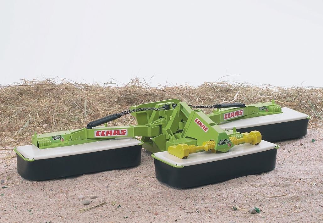 Bruder aanhanger voor speelgoedauto Driedelige maaier, Claas Disco 8550 C Plus made in germany nu online bestellen