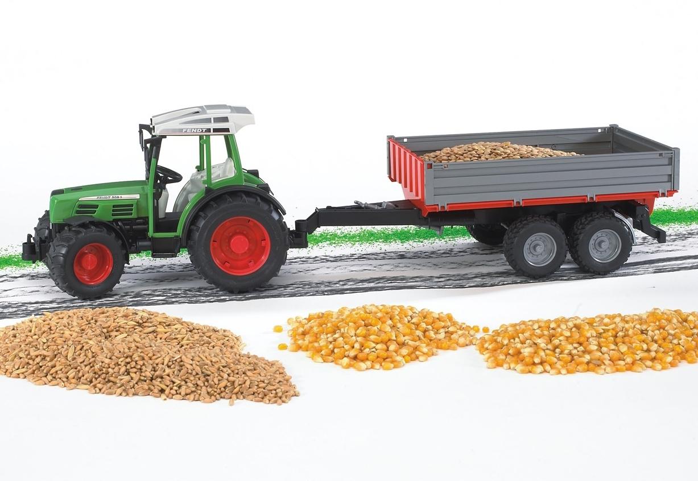 Bruder Tractor Fendt 209 S + aanhanger nu online bestellen